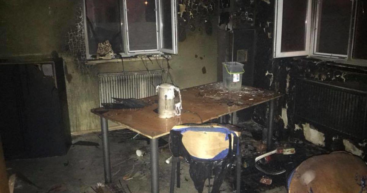 У Рівному поліція розпочала досудове розслідування за фактом підпалу  офісного приміщення ef5189049a6f7