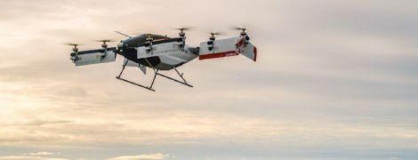 Airbus показав відео першого польоту повітряного таксі
