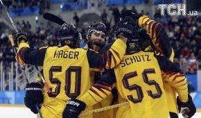 Германия обыграла Канаду в полуфинале Олимпийского турнира по хоккею