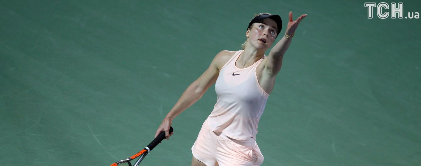 Свитолина вышла в финал турнира в Дубае и будет защищать титул в матче с российской теннисисткой