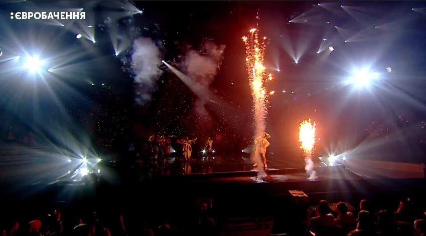 Андрей Данилко послал зрителя впрямом эфире Евровидение 2018