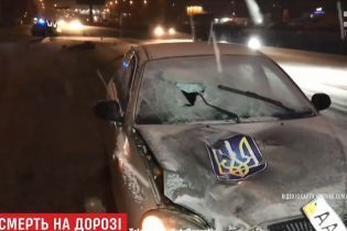 """В Киеве пешеход выбежал на трассу шириной в восемь полос и был насмерть сбит """"Ланосом"""""""