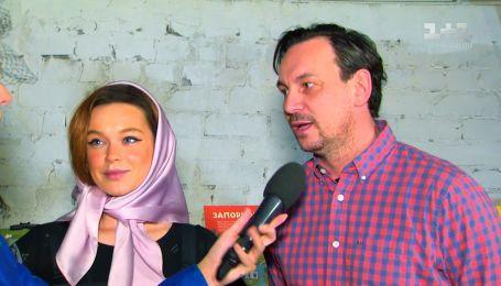Марія Яремчук і Валерій Харчишин розповіли про зйомки фільму «Легенда Карпат»