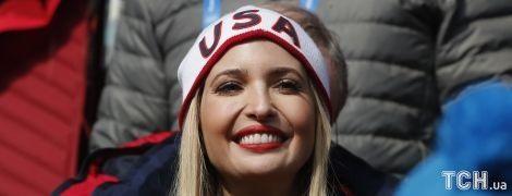 Яркий макияж и игривая улыбка. Иванка Трамп взбодрила игроков Олимпиады