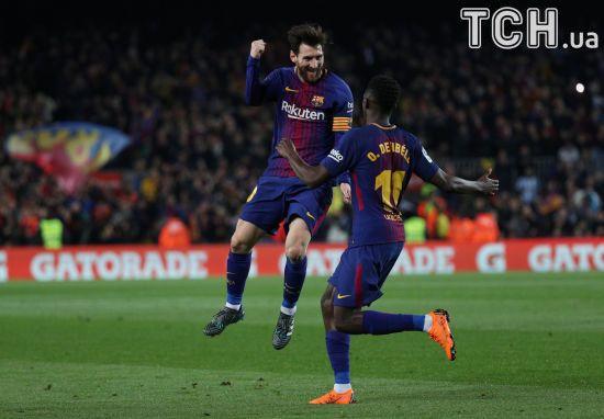 """Хет-трик Суареса та унікальний рекорд Мессі: як """"Барселона"""" знищила опонента у каталонському дербі"""