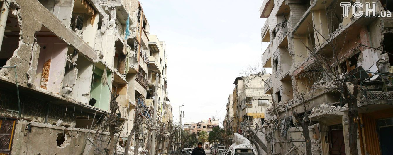 Удар армії Асада по школі у Східній Гуті вбив 15 дітей - спостерігачі