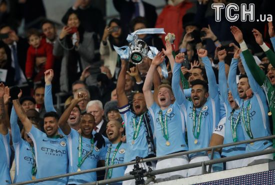 """""""Манчестер Сіті"""" розгромив """"Арсенал"""" та став володарем Кубка Ліги"""
