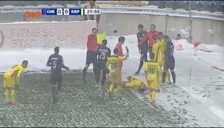 Чорноморець - Карпати - 0:0. Відео матчу