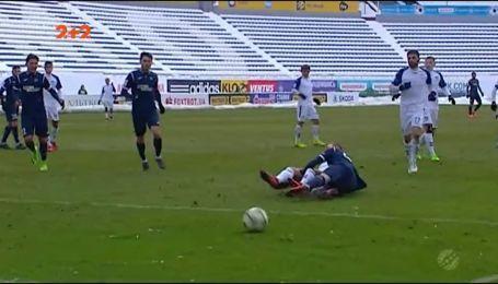 Олімпік - Сталь - 2:0. Відео матчу
