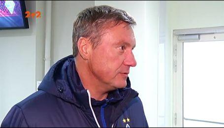 Хацкевич про поразку від Вереса: Нам бракує людини, яка заводила б команду за будь-якого рахунку