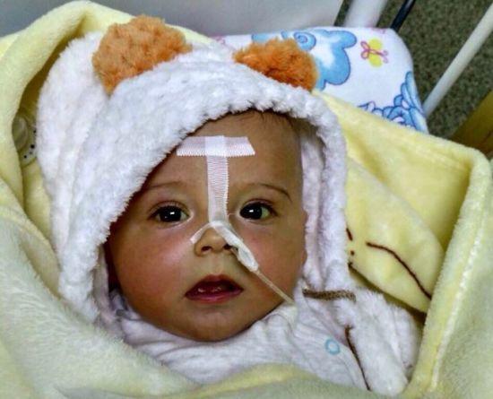 Врятуйте життя крихітного Сергійка