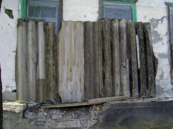 Снаряд бойовиків потрапив в житловий будинок в Єнакієвому