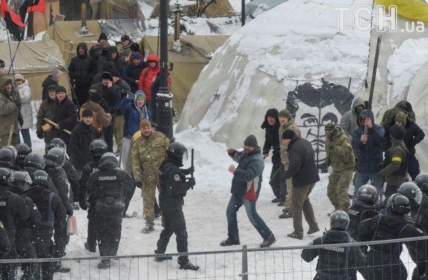 У сутичках під Радою постраждали 14 поліцейських, відкрито кримінальне провадження