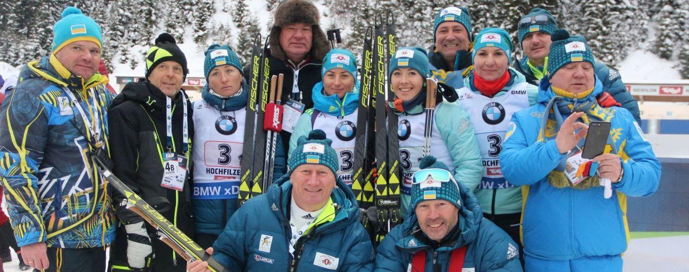 Збірна України з біатлону відмовилася їхати на Кубок світу в Росії