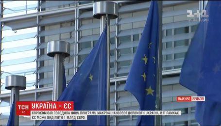 Європейська комісія погодила нову програму макрофінансової допомоги