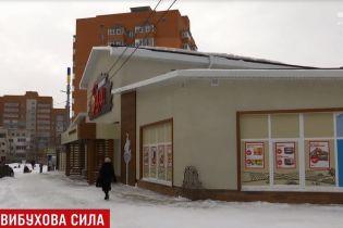 У Сумах в супермаркет кинули дві гранати і коктейль Молотова
