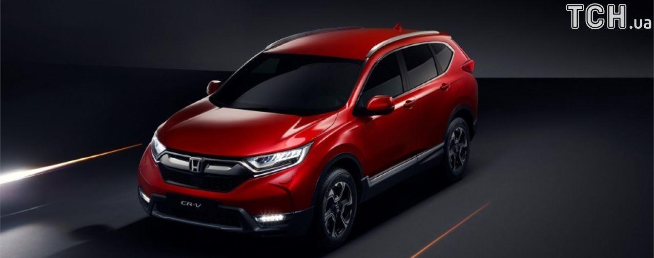 Honda CR-V переключится на гибридные технологии