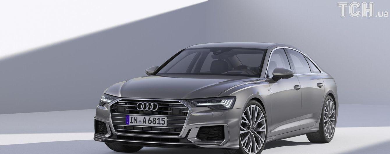 Дизайнеры Audi преобразили новую A6