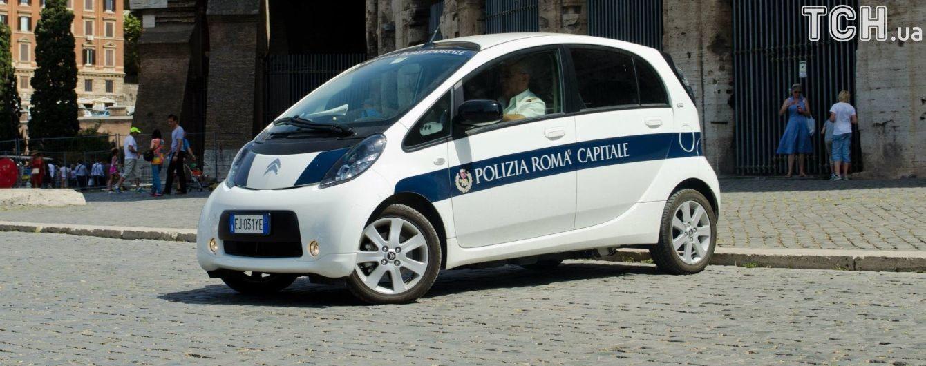 Рим закроет проезд автомобилям на тяжелом топливе