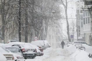 В Україні очікується третій за тиждень сніговий циклон