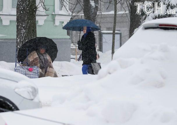 Заснеженная Украина в объективе Reuters