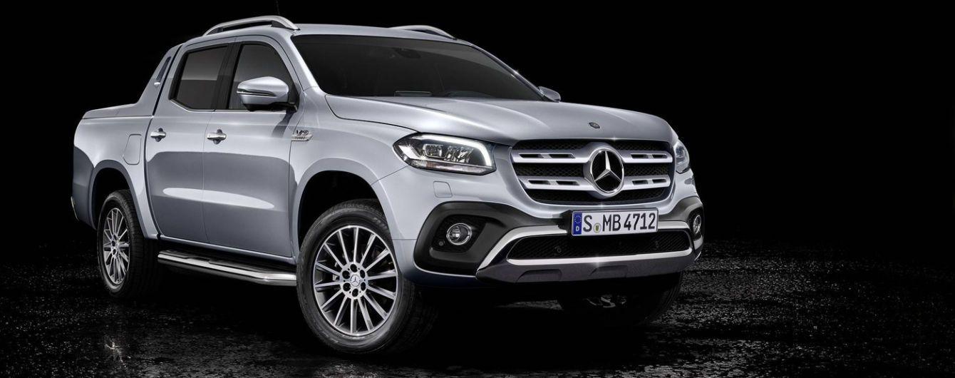 Mercedes-Benz выпускают скоростной пикап