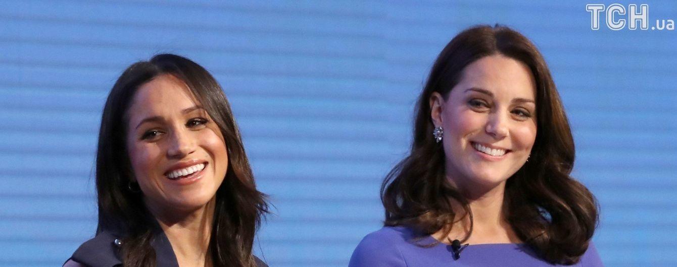 Эксперты по языку тела вычислили отношение Меган Маркл к Кейт Миддлтон