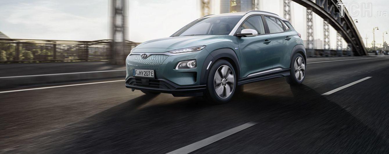 Hyundai Kona Electric появится в Украине к концу года