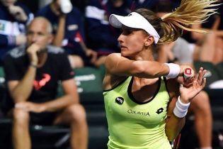 Украинка Цуренко пробилась в полуфинал престижного теннисного турнира в Акапулько