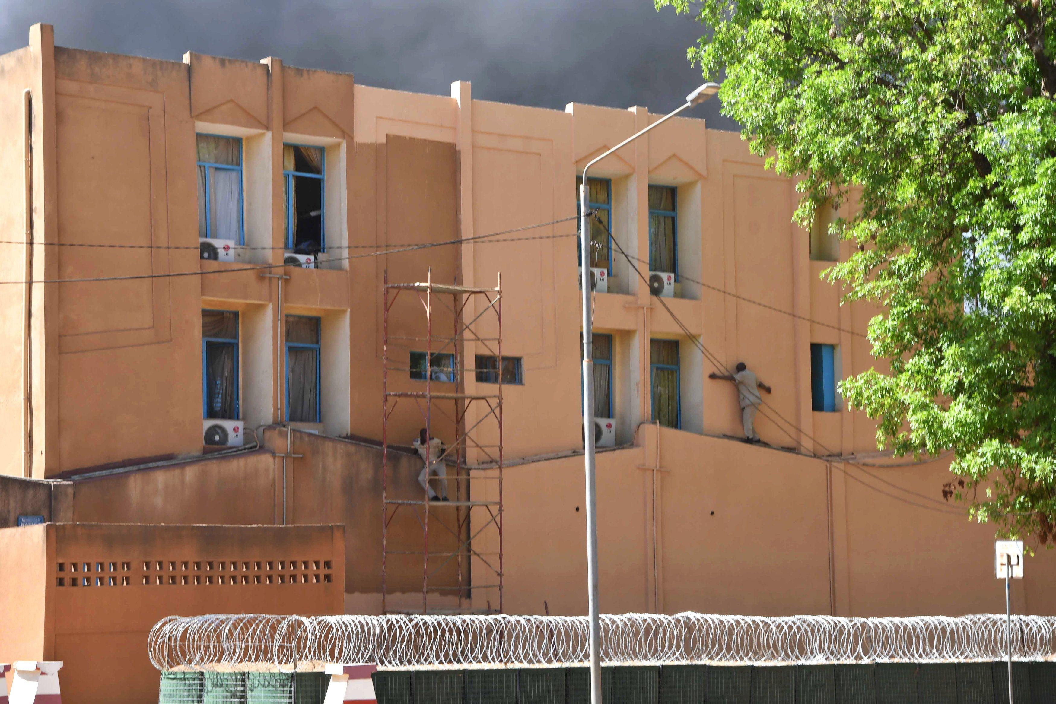 Атака на посольство Франції у Буркіна-Фасо