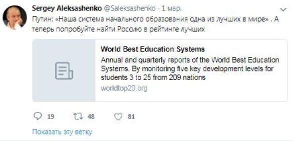 Twitter Сергія Аксешенко
