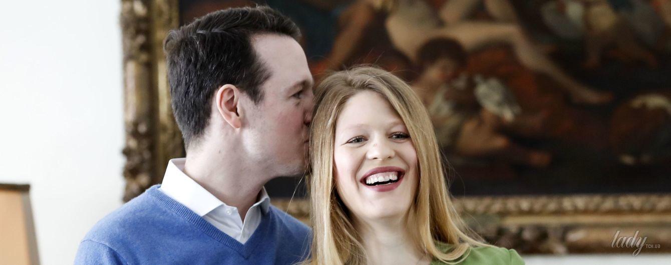 Как это мило: сербский принц Филипп и принцесса Даница показали своего новорожденного сына