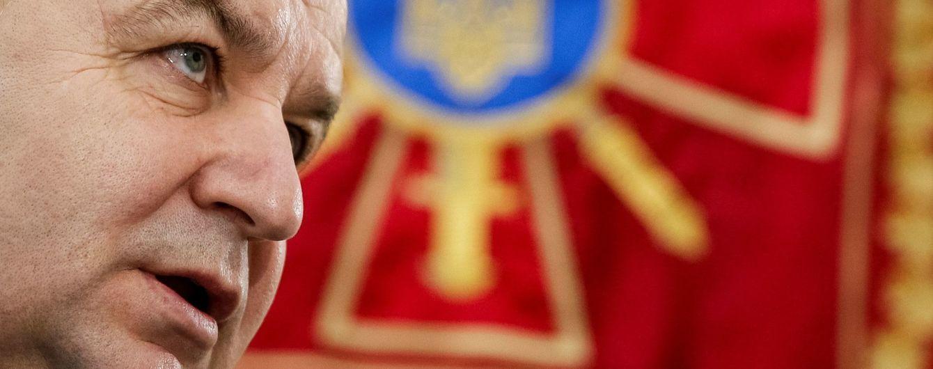 Полторак назвал самый дорогой сектор реформирования украинской армии