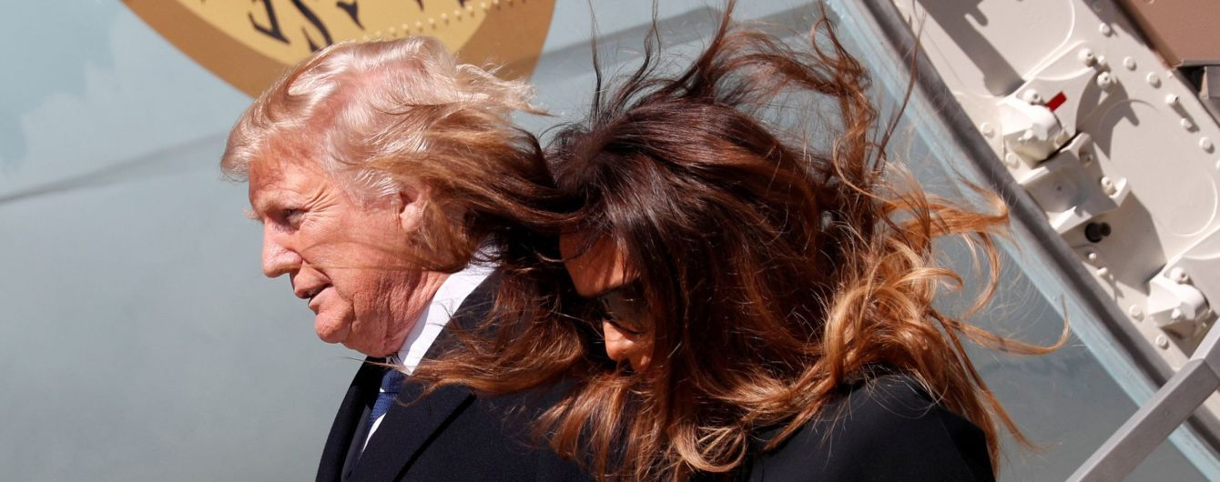 Трамп розповів, коли його дружину Меланію випишуть з лікарні