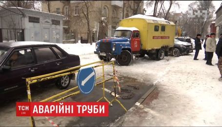 В Харькове в шестой раз за неделю прорвало теплосеть