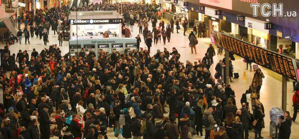 вокзал лондон