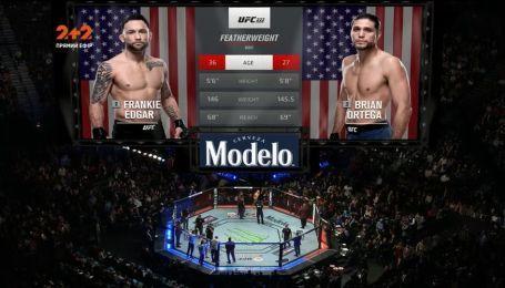 UFC 222. Брайан Ортега - Фрэнки Эдгар. Видео боя