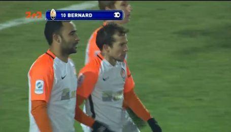 Карпаты - Шахтер - 0:1. Видео гола Бернарда