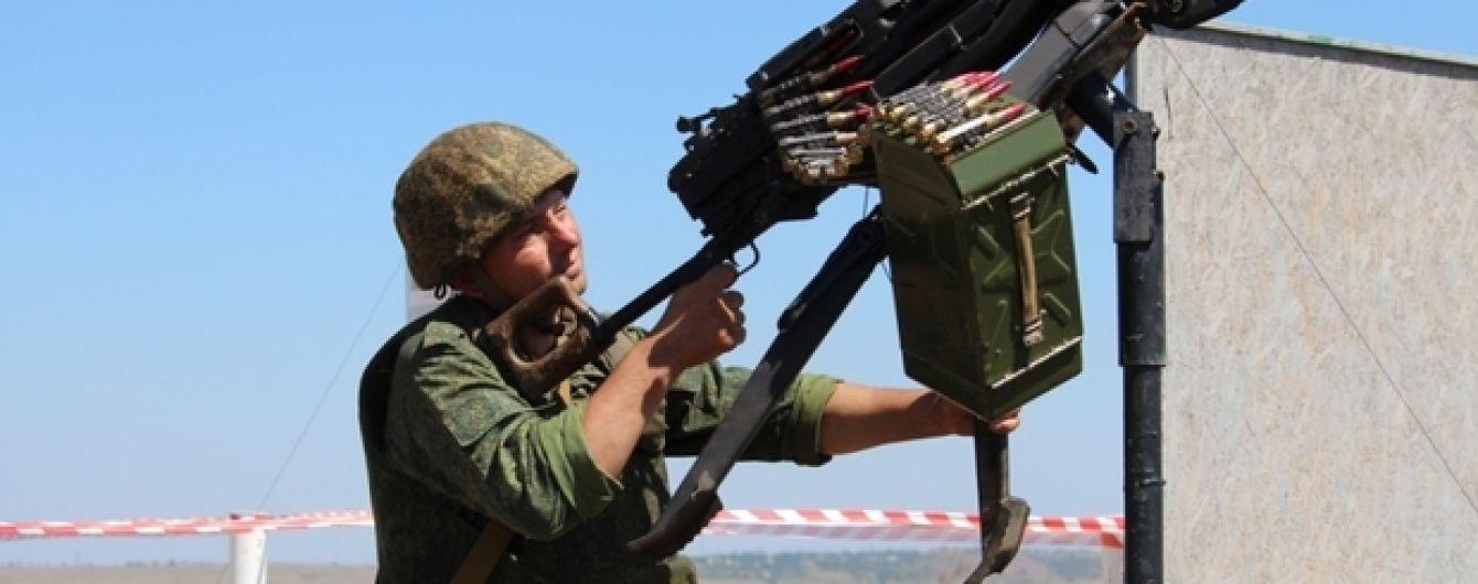 На Донбасі бойовики сім разів порушили режим припинення вогню