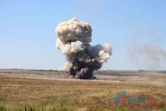 Бойовики із забороненої артилерії обстріляли українських військових на Луганщині