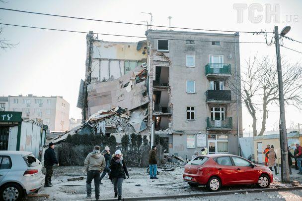 У Польщі збільшилася кількість загиблих через вибух газу в будинку