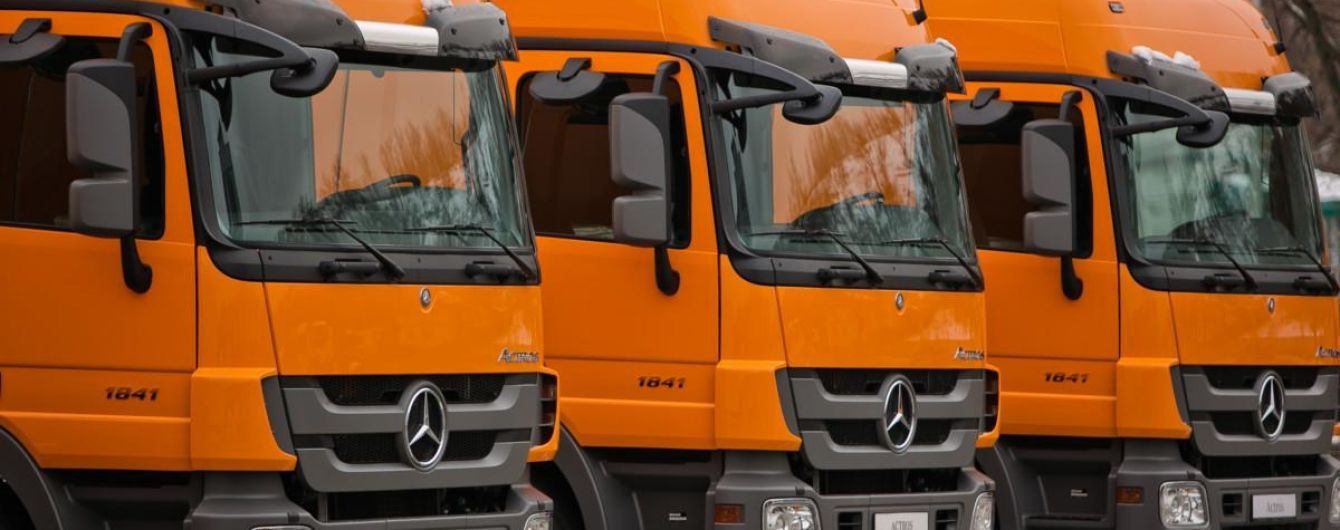 В Украине рекордно растет рынок грузовиков