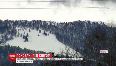 Во Франции лавина убила двух альпинистов