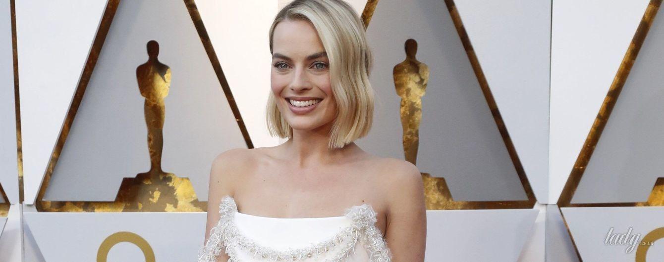 """В платье от Chanel и с необычной сумкой: образ Марго Робби на церемонии """"Оскар-2018"""""""