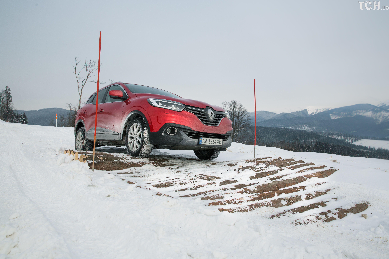 SUV, полный привод, Renault Kadjar