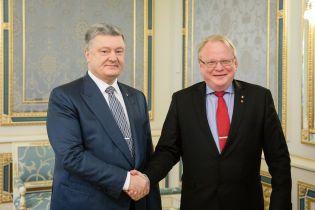 Порошенко закликав Швецію не допустити газового шантажу Росії проти України та Євросоюзу