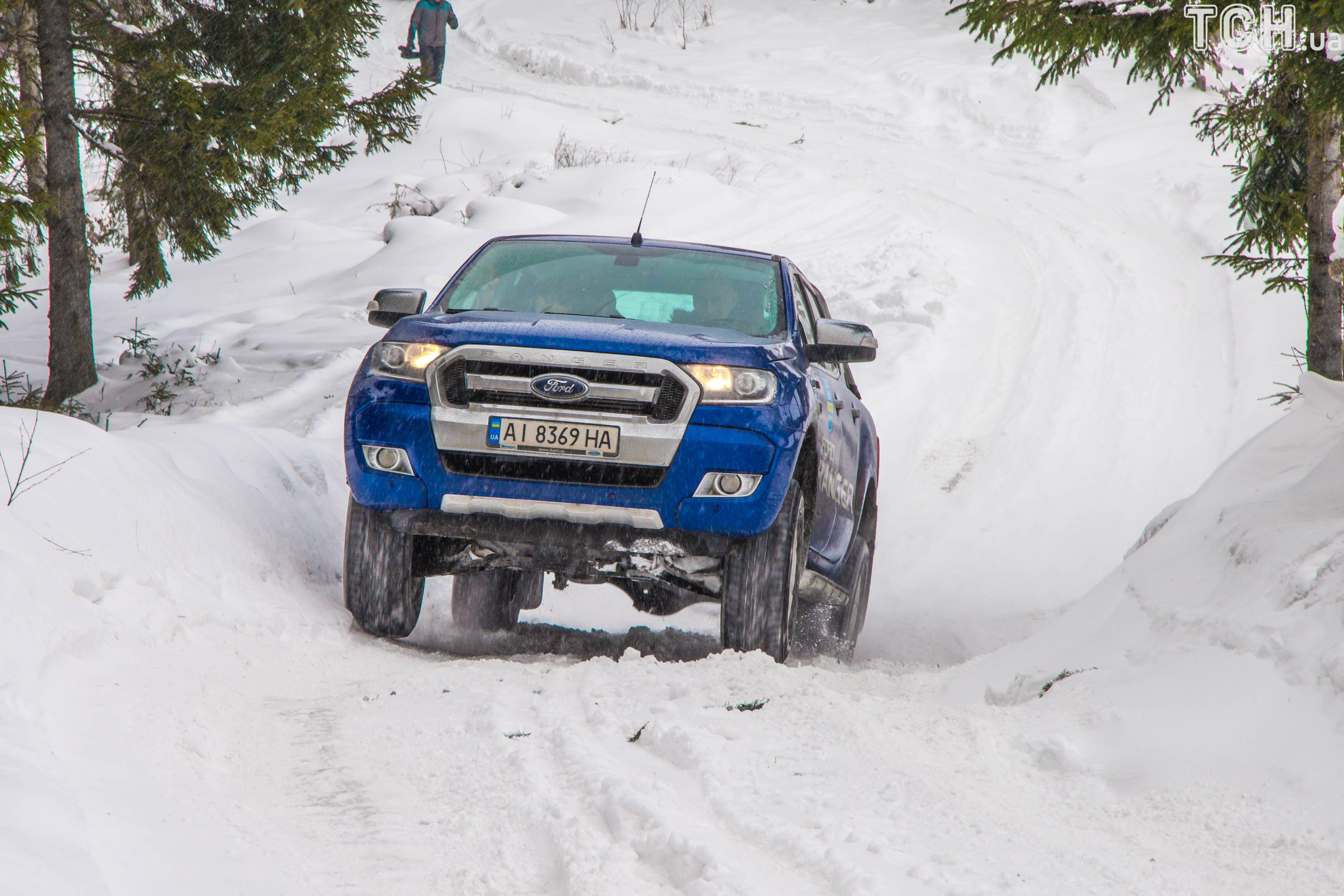 SUV, полный привод, Ford Ranger