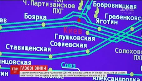 """Украинскую газотранспортную систему взяли под усиленную охрану из-за конфликта с """"Газпромом"""""""