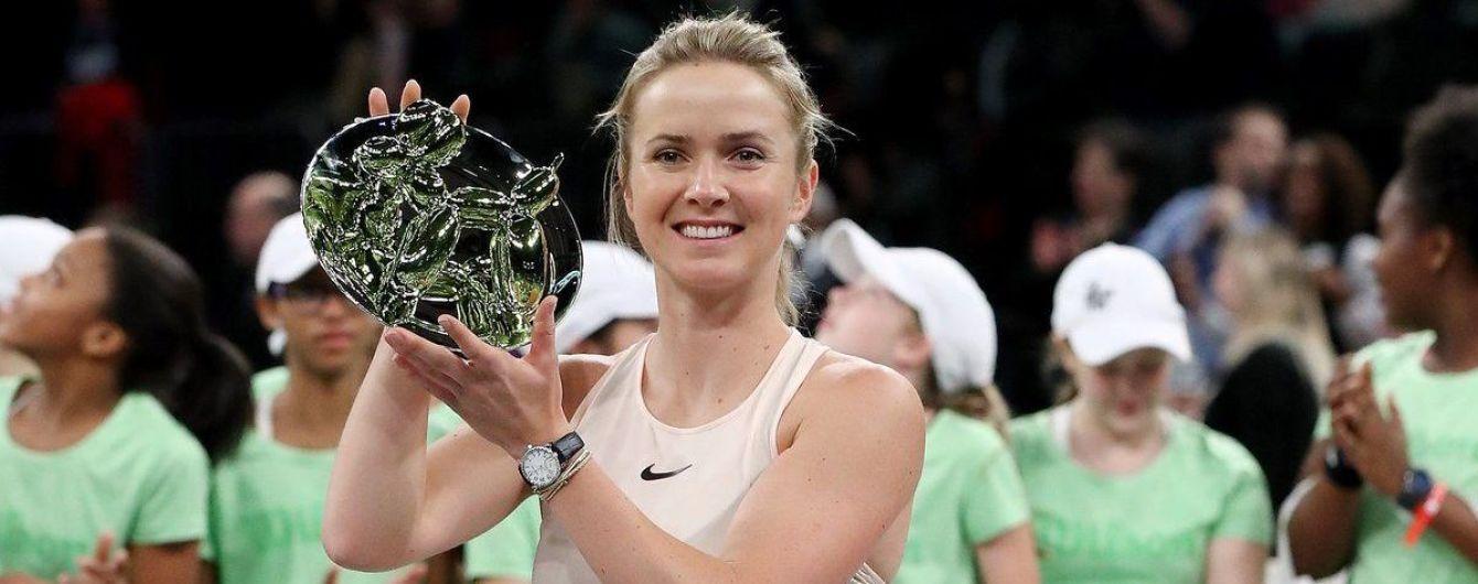 Свитолина разгромила всех и выиграла выставочный турнир в Нью-Йорке
