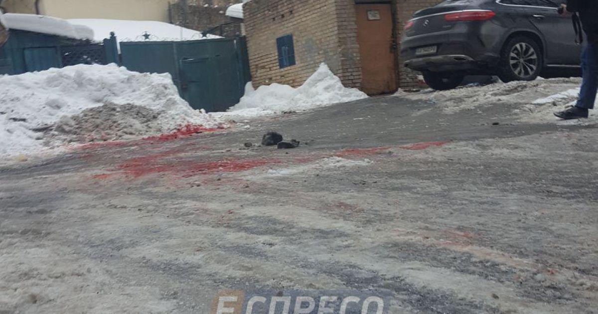 Фото з місця нападу  @ Еспресо.TV